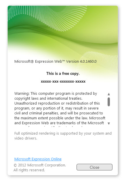microsoft expression web 3 full version free download