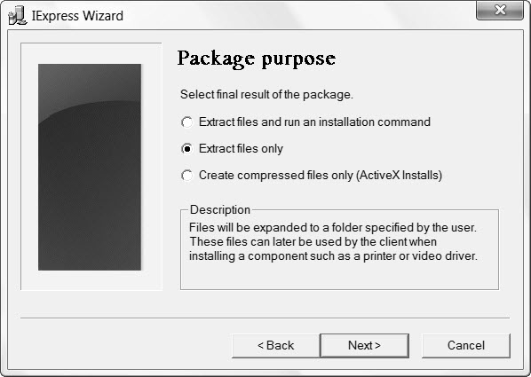 How to Create a Self-Extracting Zip File