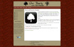 Screenshot Roots and Branches template.